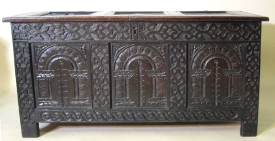 Joined and Paneled Coffer 1640