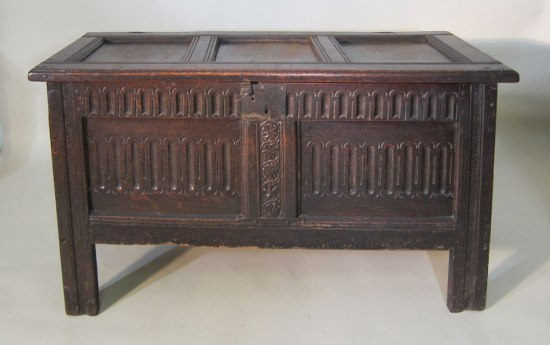 Joined and Paneled Coffer c 1625