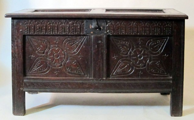 Joined and Paneled Coffer c1675